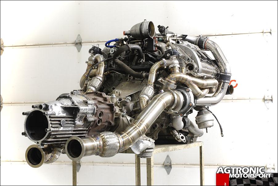 Tubular Exhaust Manifolds Audi Twin Turbo V6 Using
